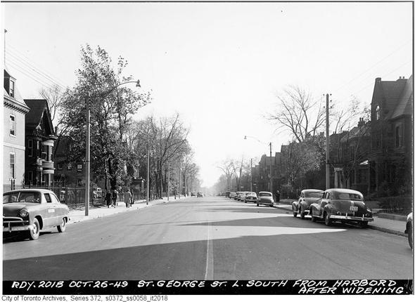 the Annex, postwar, 1940s, 1950s, 1960s
