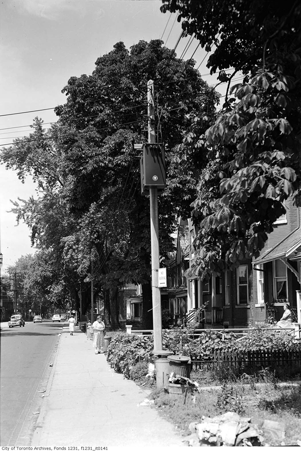 the Annex, postwar, 1940s, 1950s, 1960s/></p>  <p><em>Images from the City of Toronto Archives. Series and fond information contained at bottom</em>.</p>