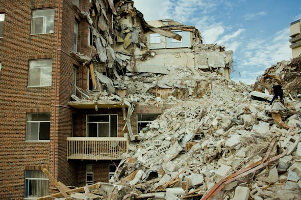 Toronto Apartment Demolition Levels