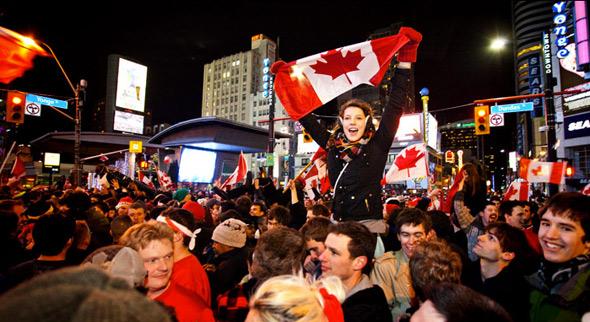 Canada Gold Toronto celebration
