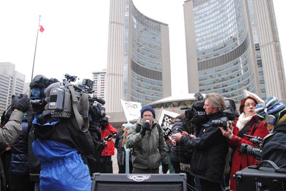 Rob Ford Protest Toronto
