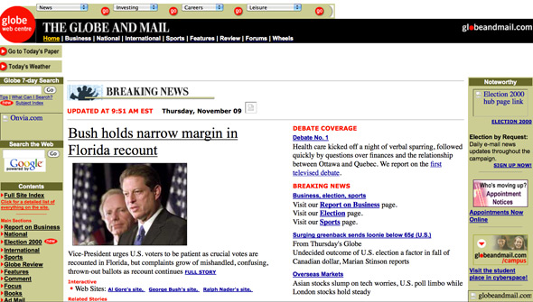 Globe and Mail Web 200