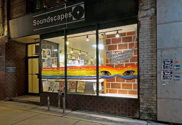 Soundscapes Window Display