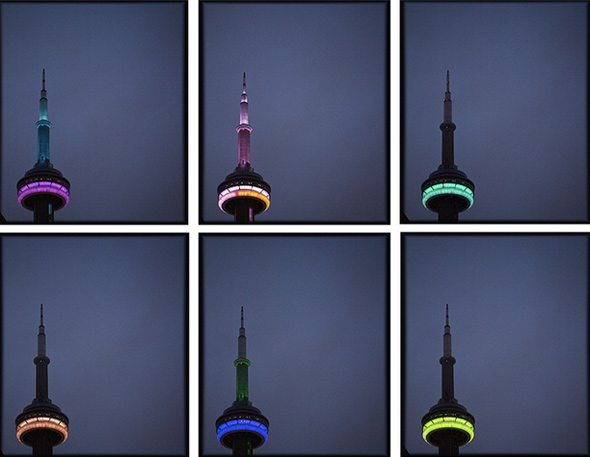 CN Tower Lights