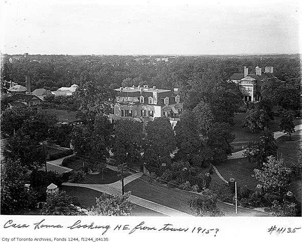 Toronto, 1920s, Christmas, the Austins, Spadina Museum: Historic House and Gardens