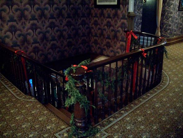 Toronto, 1920s, Christmas, the Austins, Spadina Museum: Historic House and Gardens, staircase