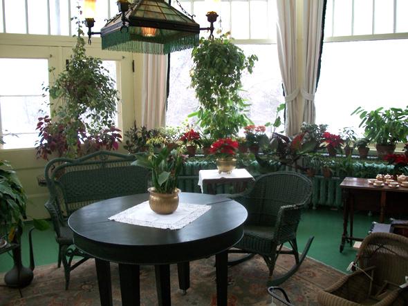 Toronto, 1920s, Christmas, the Austins, Spadina Museum: Historic House and Gardens, Palm Room