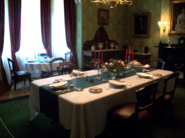 Toronto, 1920s, Christmas, the Austins, Spadina Museum: Historic House and Gardens, Dining Room