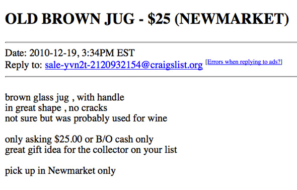 Craigslist Christmas Gifts