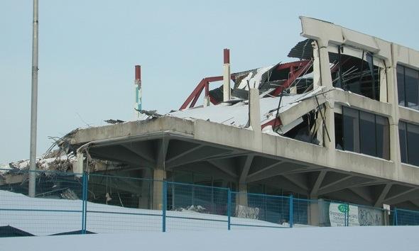 Bata Building Destruction John B Parkin Aga Khan Museum