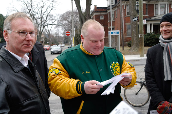 Rob Ford Roncesvalles