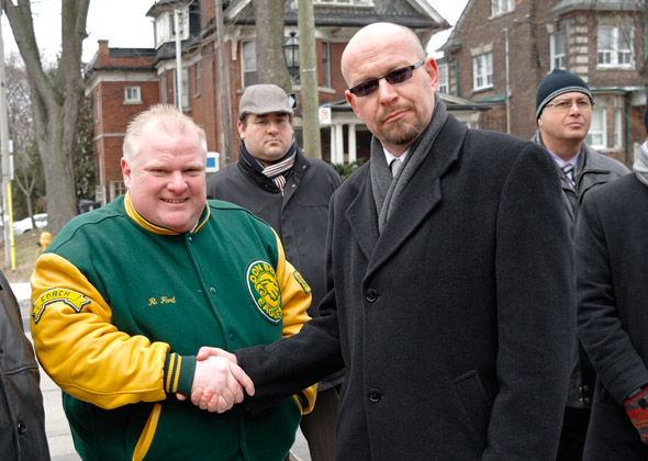 Rob Ford Tony Cauch