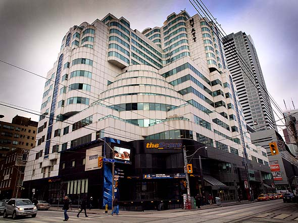 Northeast corner of King West and Peter