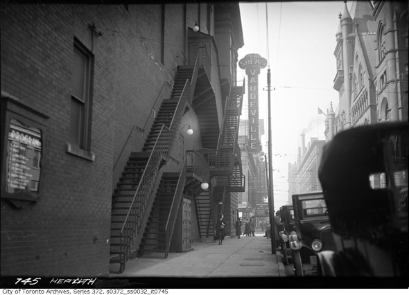 Toronto, Morality Department, Toronto Police Force, William Howard, prostitution, women