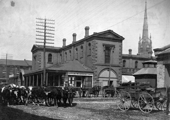 St. Lawrence Market history