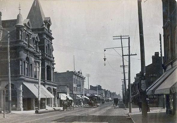 Yonge Street 1880s