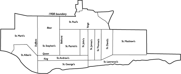 Toronto Wards 1880s