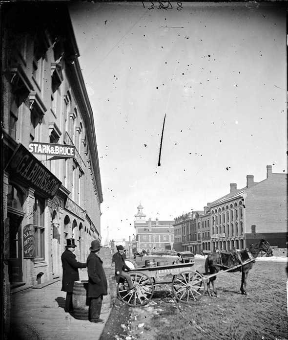 Front St Toronto 1876