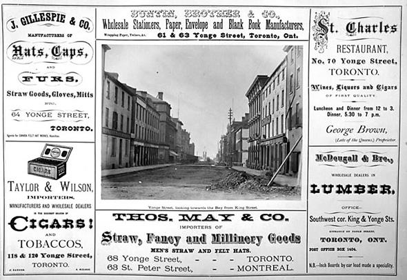 Notman Fraser Commerical Houses of Toronto