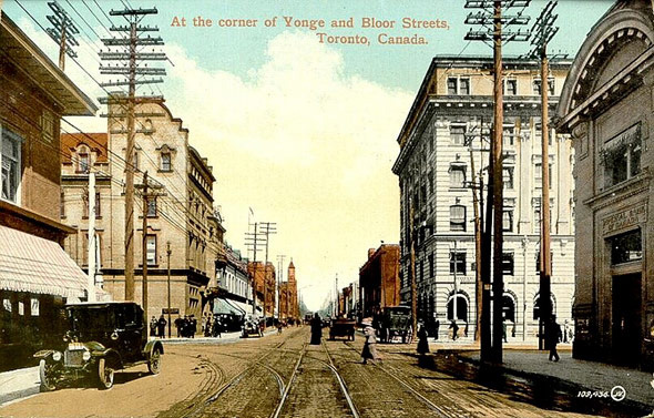bloor yonge history