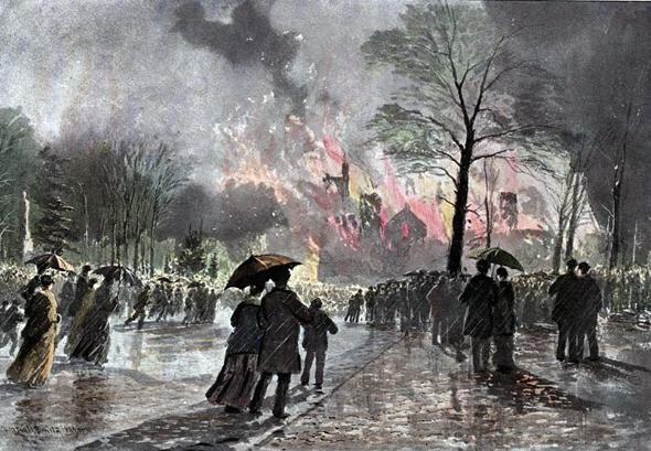 Toronto, University College, fire, Valentine's Day, 1890, nineteenth century