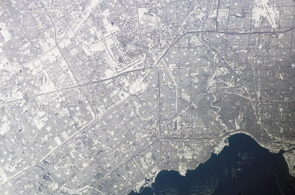 Toronto From Space