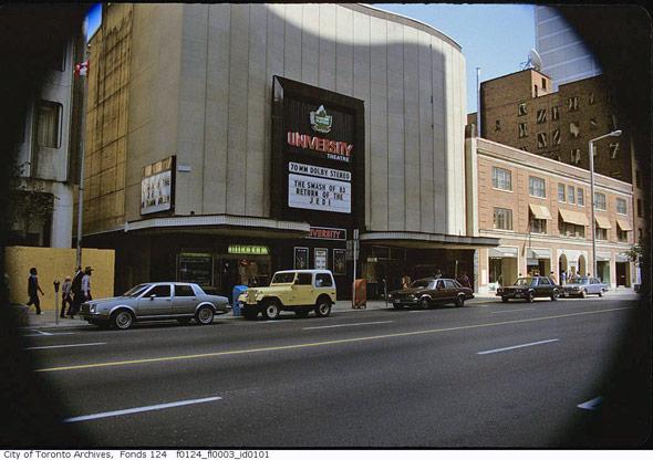 University Theatre Toronto