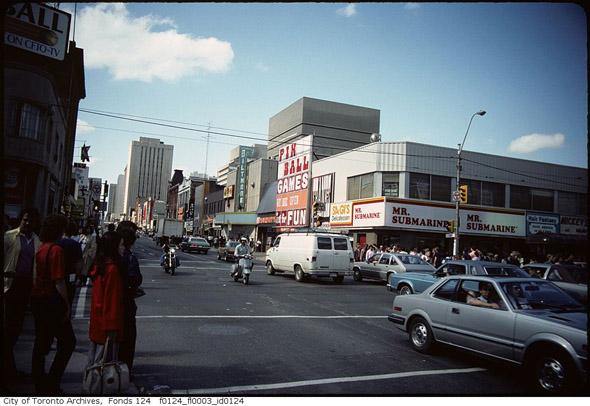 Yonge and Dundas Toronto 1970s
