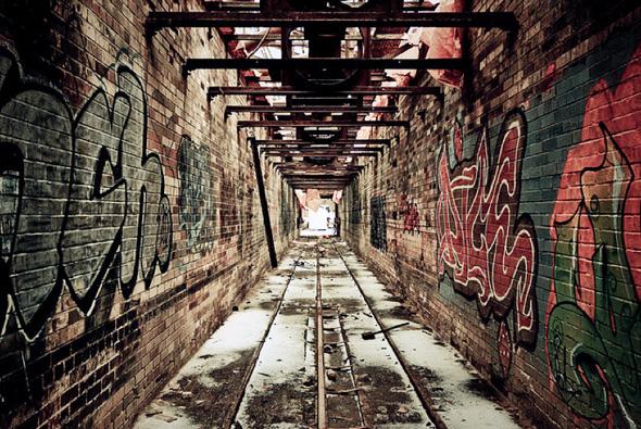Graffiti Don Valley Brick Works