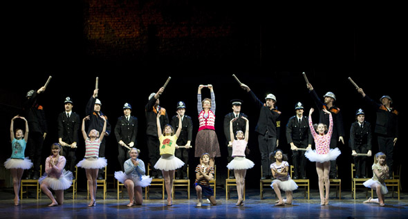 Billy Elliot at the Canon Theatre in Toronto