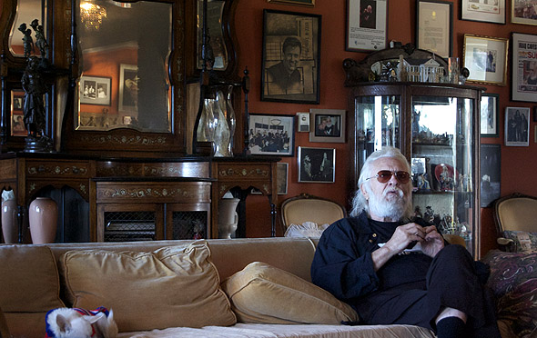 Ronnie Hawkins interviewed for Yonge St