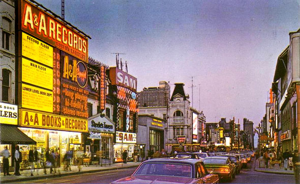 Yonge and Elm, late 1960s