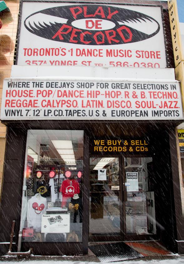 Play De Record Toronto