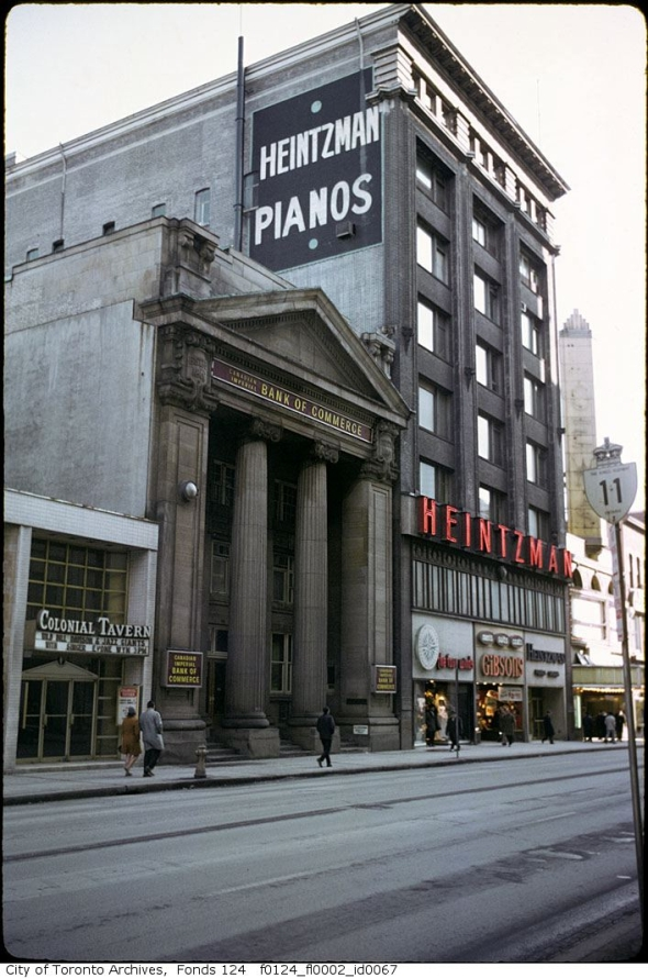 Toronto, history, heritage, 199 Yonge Street