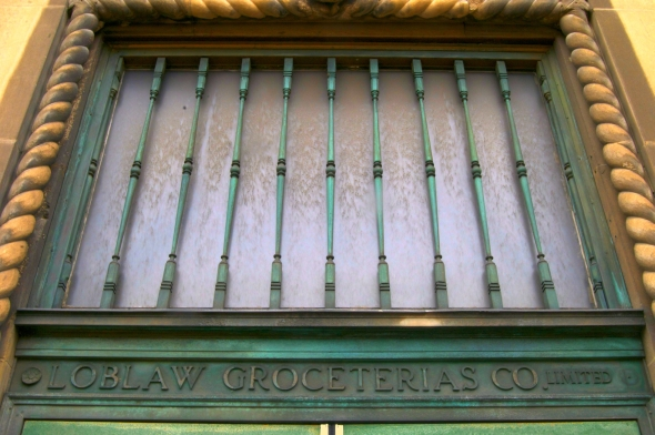Toronto, history, heritage, Loblaws Groceterias Company