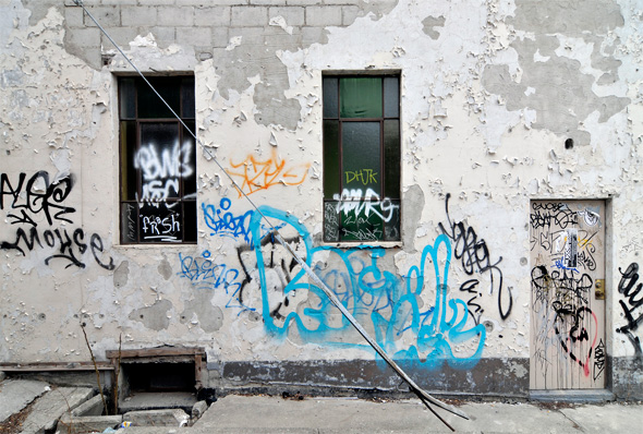 Toronto Graffiti crackdown