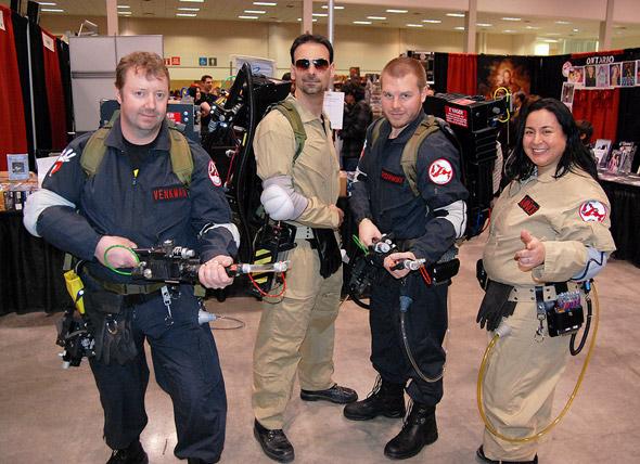 Comic Con Tornto 2011