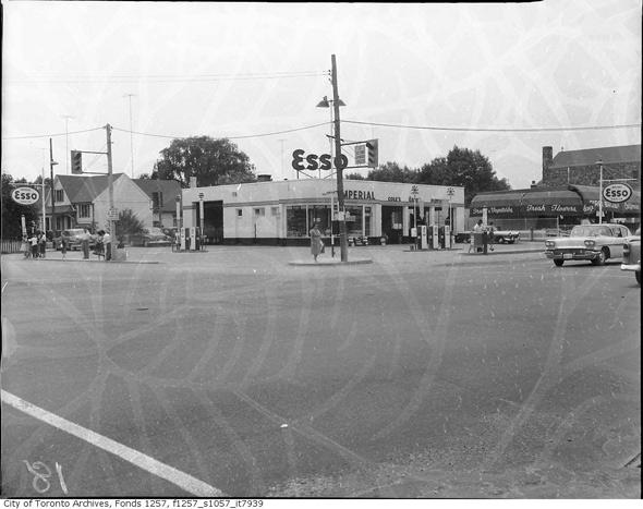 gas station toronto