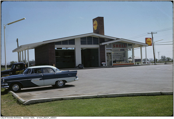 what gas stations used to look like in toronto. Black Bedroom Furniture Sets. Home Design Ideas