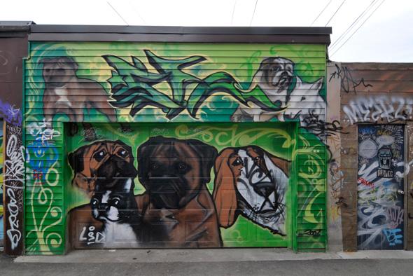West Queen Graffiti