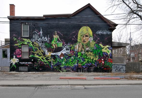 Graffiti crackdown