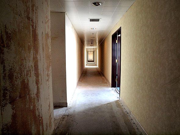 hallway on executive floor