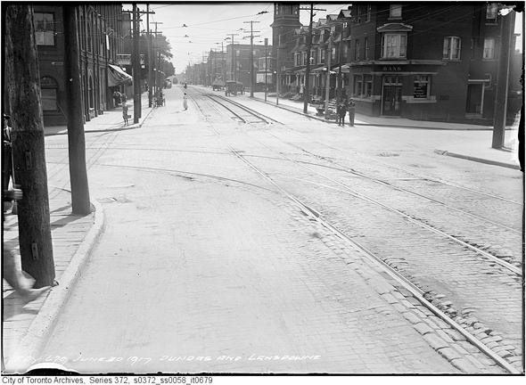 Toronto, history, neighbourhoods, Brockton