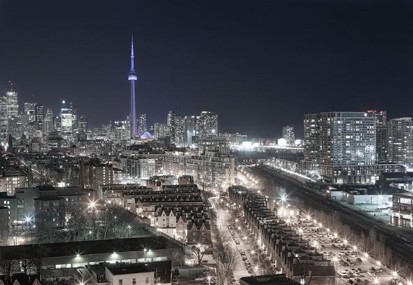 Toronto Skyline Lights