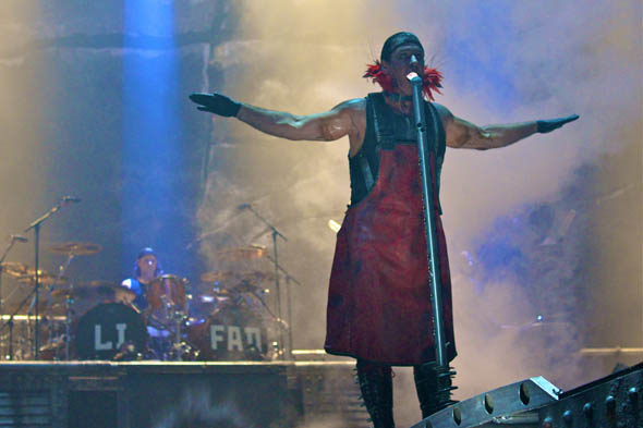 Rammstein at the ACC