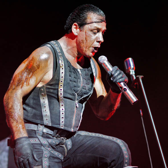 Rammstein Burns At The Air Canada Centre