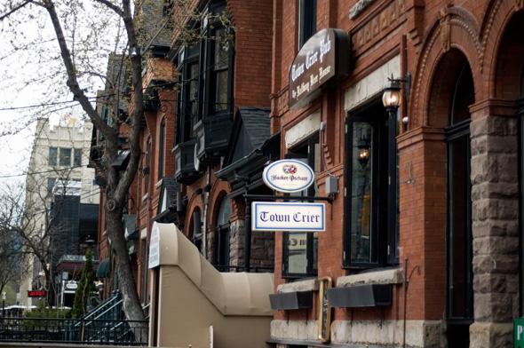 Town Crier Patio Toronto