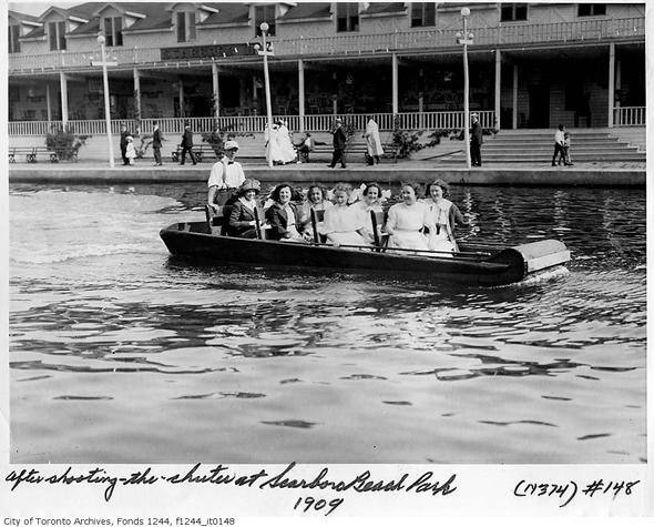 Toronto, history, Scarboro Beach Park, Victoria Park, the Beaches