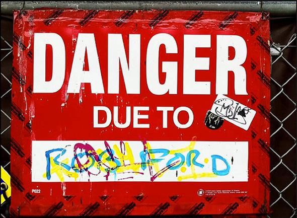 Danger Rob Ford Toronto