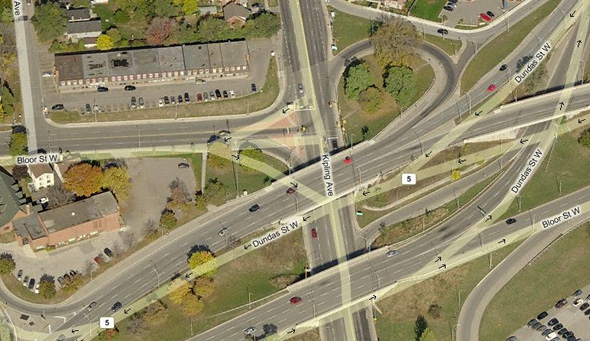 Dix Points Intersections